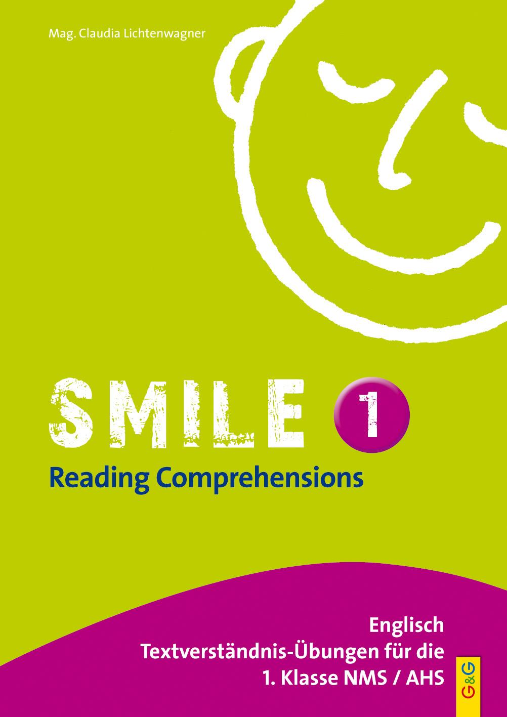 Smile – Reading Comprehensions 1 – Englisch Textverständnis-Übungen ...